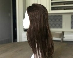 Uniwigs Claire Human Hair, Medium Brown