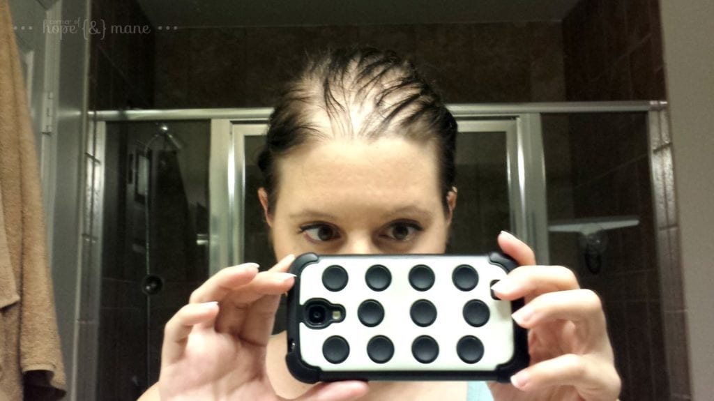 Wet Hair After Pregnancy