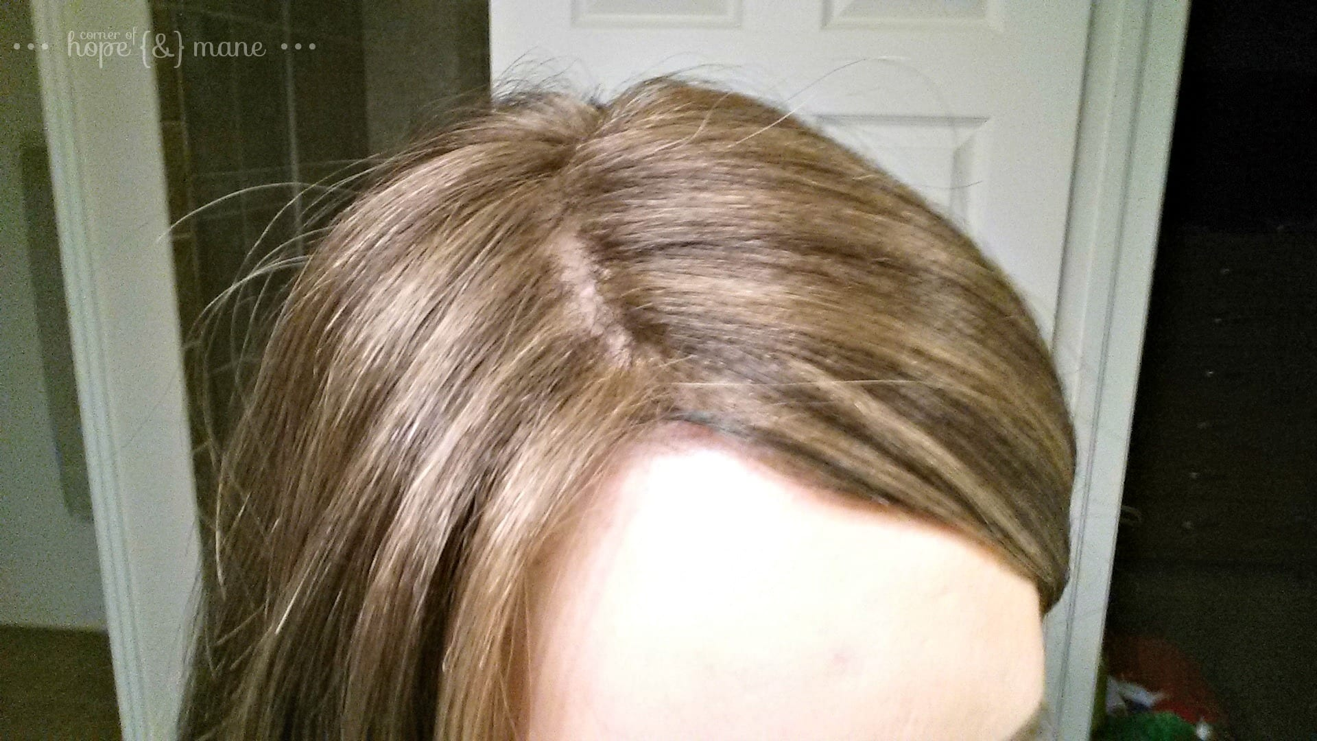 How I Added Roots To My Synthetic Topper Or Wig