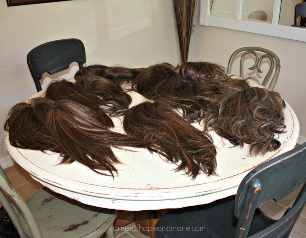 brown hair toppers and wigs