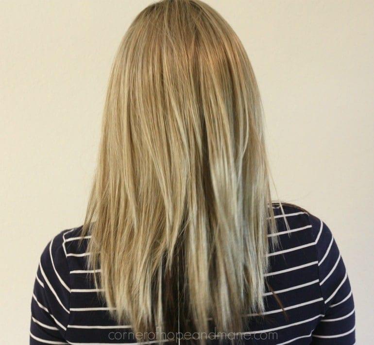 Back Code Mono Wig