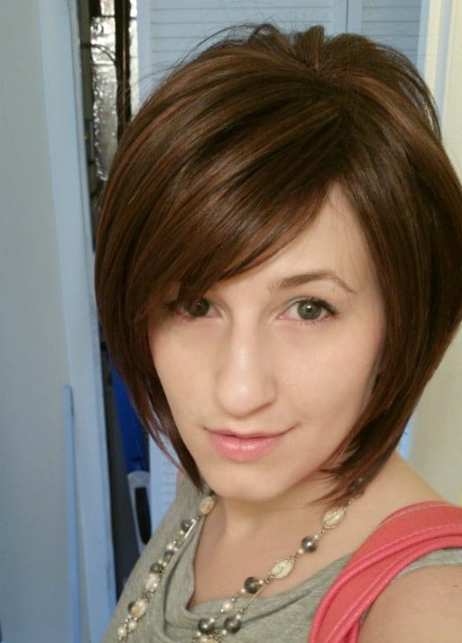 Short Wigs: Noriko Reese in Chestnut (Photos and Video)