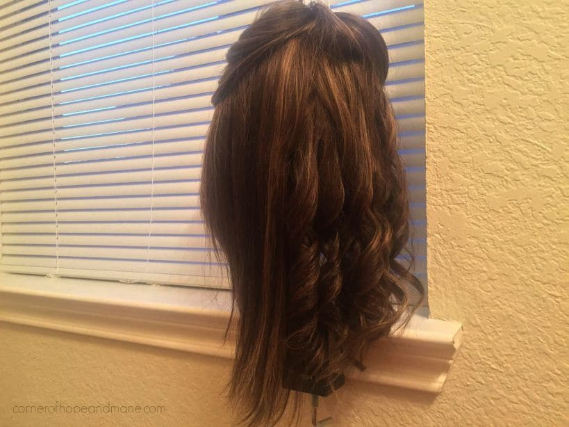 curl synthetic hair