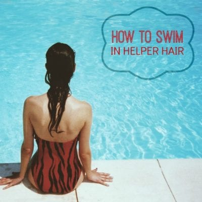 How to Swim in a Wig or Topper (Yes, It Can Be Done!)