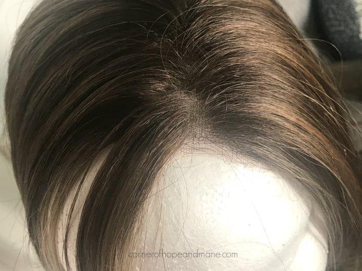 no black dots on lace front