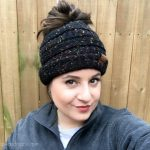 This Beanie Bun Hat is the Cure for Winter Blues